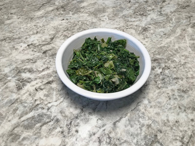 Braised-mustard-greens-with-garlic-and-ginger