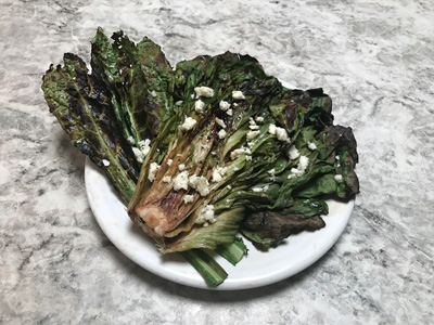 Grilled-radicchio-and-kale-with-blue-cheese