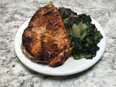 chicken-with-braised-greens