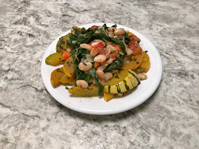 pan-roasted-delicata-squash-with-kale-and-sage