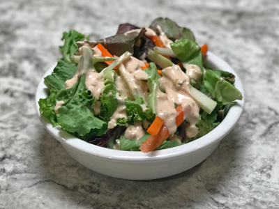 salad-with-thousand-island-dressing