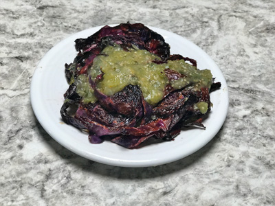 tomatillo-salsa-over-roasted-cabbage